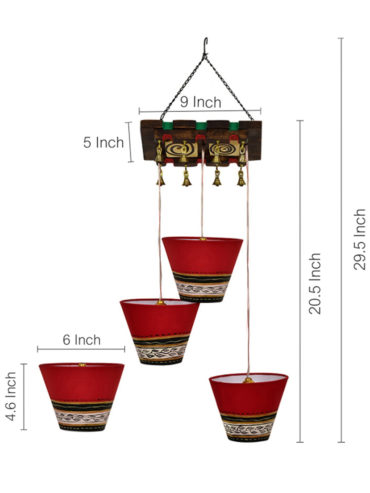 494d00ce-d562-49c5-9c7f-041adf56af821536744145667-ExclusiveLane-Bucket-Shaped-Chandelier-With-Hanging-Lamp-Shades-In-Red-3-Shades-4001536744145616-3
